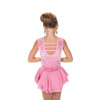 Tunique de patinage Rose Petal 10-12