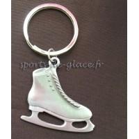 Porte clés patin à glace