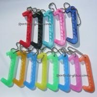 Porte clés protège-lame de patin à glace