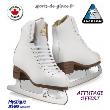 patins glace jackson mystique 1490 sports de. Black Bedroom Furniture Sets. Home Design Ideas