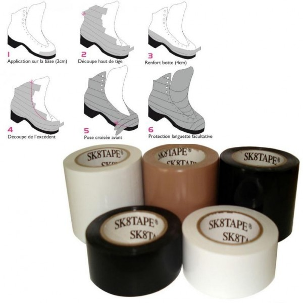 Skate Tape Sk8 Tape To Protect Ice Skates Sports De Glace Fr