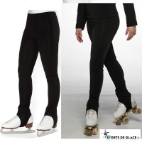 Fleece Stirrup skating pants