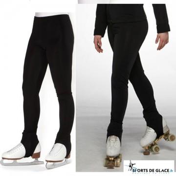 Pantalon de patinage étrier polaire