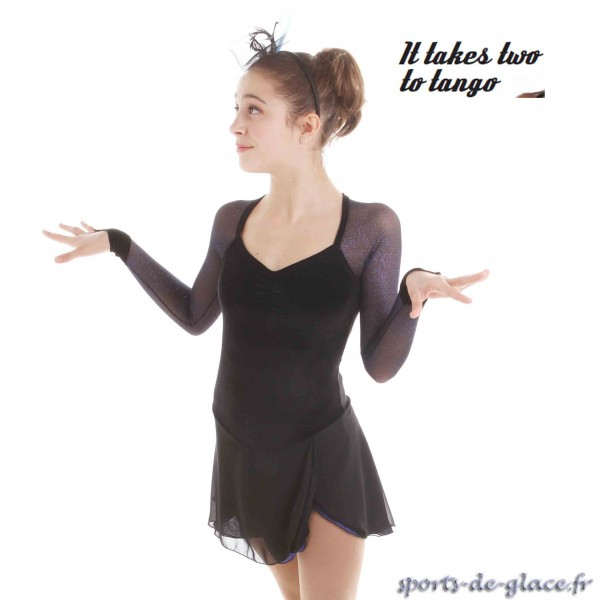 robe de patinage artistique nightfall sports de. Black Bedroom Furniture Sets. Home Design Ideas