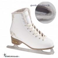Furry soft ice skates