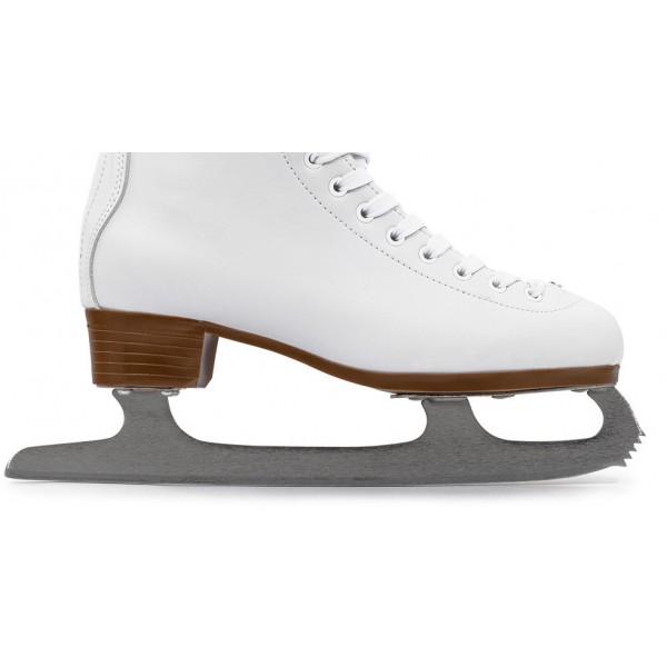 patins glace d butants blancs sports de. Black Bedroom Furniture Sets. Home Design Ideas
