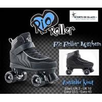 Rio roller Mayhem Roller Quad noirs