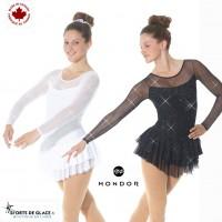 Mondor shiny skating dress