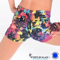 Short enfant Rainbow scintillant