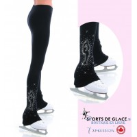 legging supplex strass patineuse Bielman