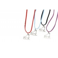 Collier patin Cristal
