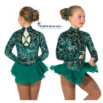 Robe de patinage Emeraldella