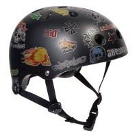 Custom stickerZ Helmet
