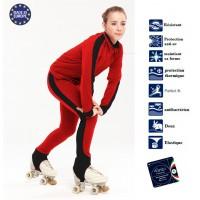 Tenue entrainement patinage Polaire