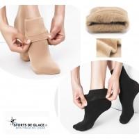 chaussettes chaudes polaires