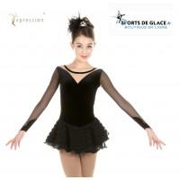 Robe de patinage Swan