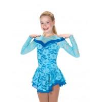 Oceanic Lace Dress