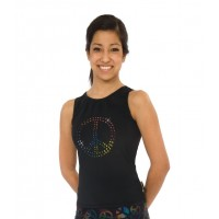 CRYSTAL PEACE TANK TOP