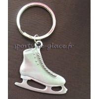 Keychains pewter ice skate