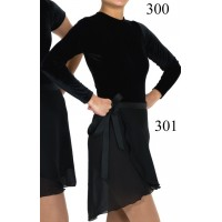 Georgette Wrap Skirt - Figure skating