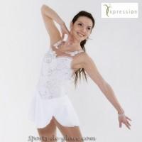 EliteXpression White Elegance dress