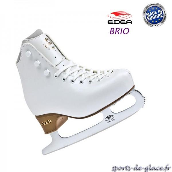 patins glace edea brio avec lames edea sports de glace france. Black Bedroom Furniture Sets. Home Design Ideas