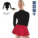 Body de patinage polaire Noir