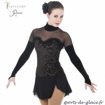 c78f7ed4de9 Black Swan skating dress - SPORTS DE GLACE France