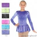 Mondor glitter velvet practice dress