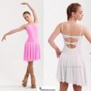 Lycra ice dance dress