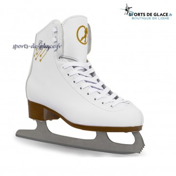 Patins à glace débutants blancs