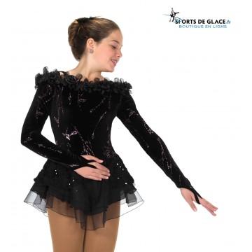 6c065e8ca3e Jerry s Black Swan skating Dress - SPORTS DE GLACE France