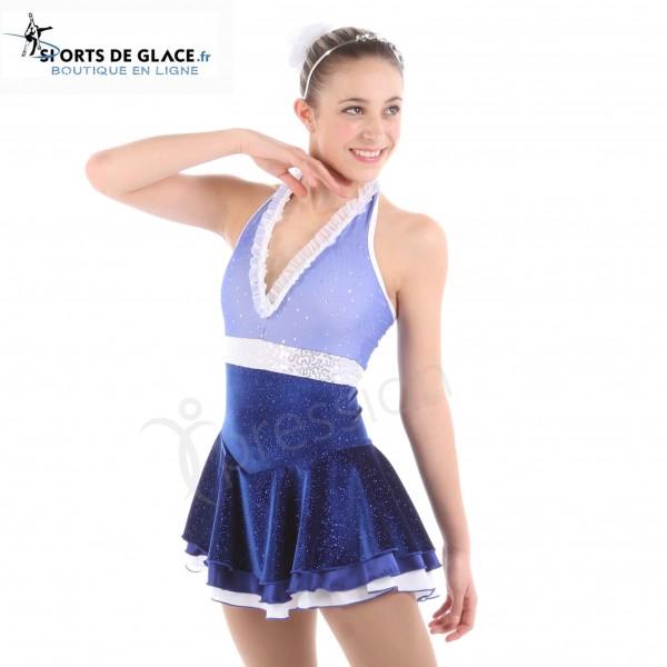 f62b1308ae Elite Xpression Blue Skating Dress