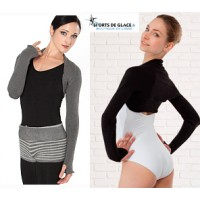 Intermezzo Warm-Up Shrug Top