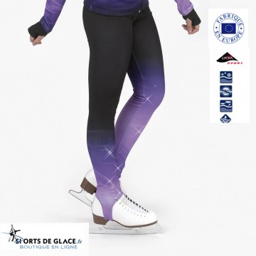 Pantalon de patinage etrier Crystal Fun Skate