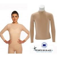 Unisex nude color top