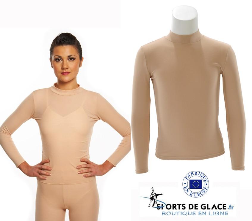 T shirt couleur chair - SPORTS DE GLACE France