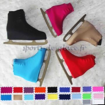 couvre patins lycra couleur