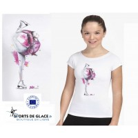 T shirt patinage artistique