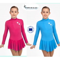 Star fleece skating dress
