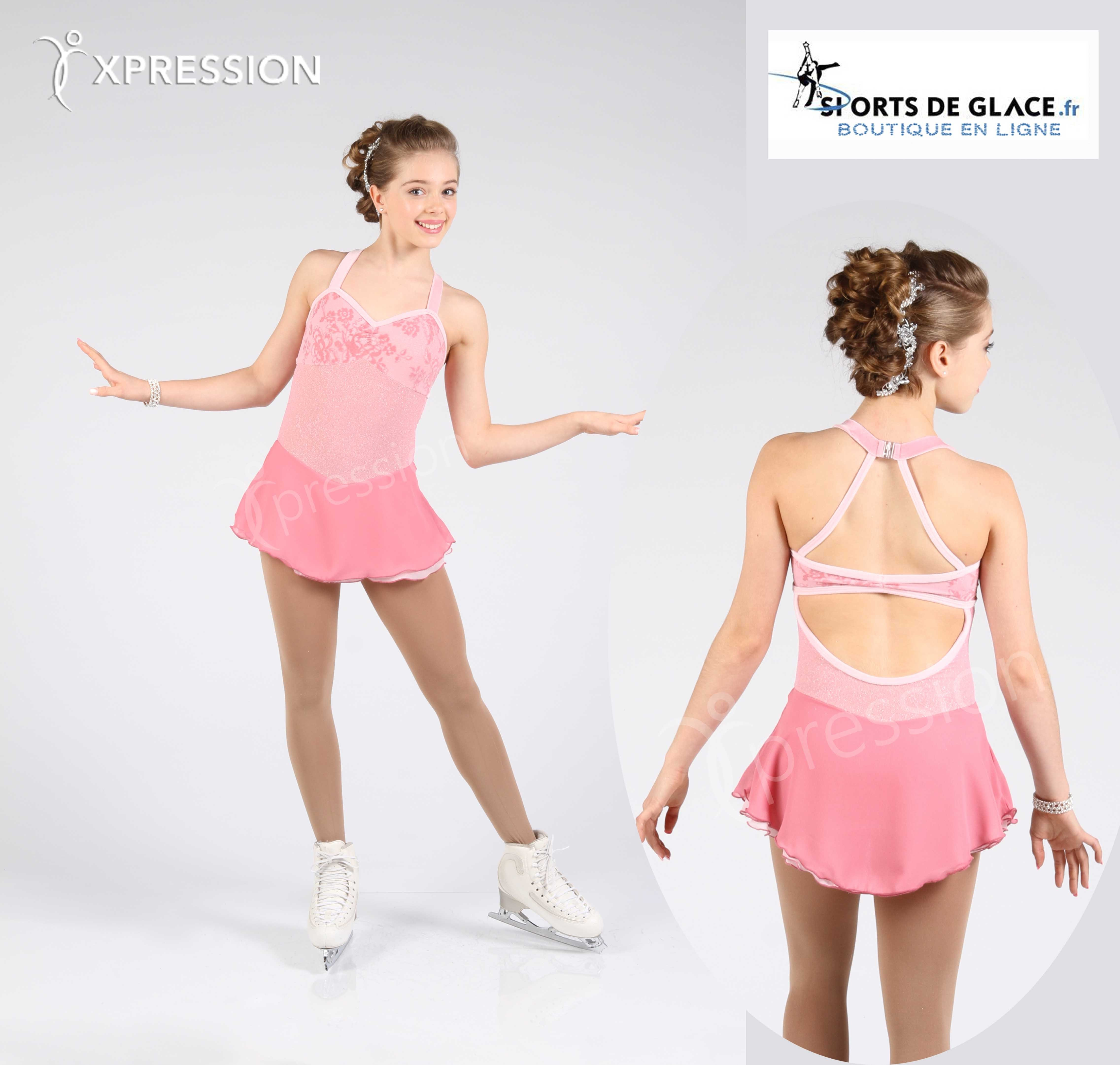 4da1be061f Elite Xpression clear Pink Dress 2016