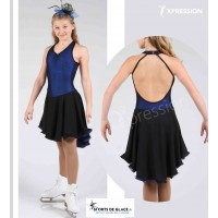 Xpression Blues ice dance dress