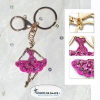 porte clés Ballerine strass