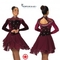 Robe de danse Wine and Waltzes