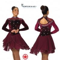 Robe de danse Wine and Waltzes