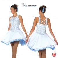 Twirl of Pearl Dance Dress