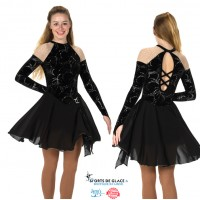 Robe de danse Sheer Shoulder