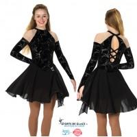 Robe de danse Sheer Shoulder