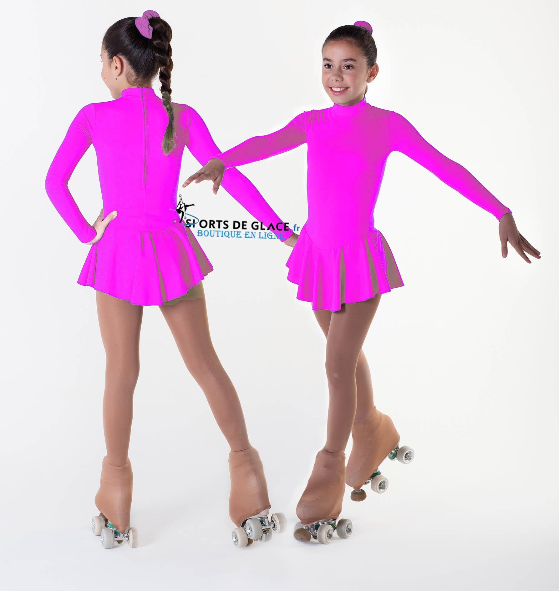 b479cd44a6 warm pink fleece dress