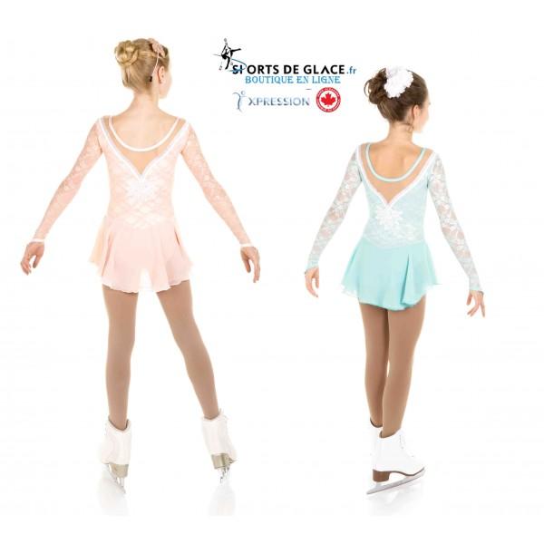 e2b2d27578 Elite Xpression pastel lace dress. Classical velvet ice dance dress   Classical velvet ice dance dress  Classical velvet ice dance dress. ‹ ›